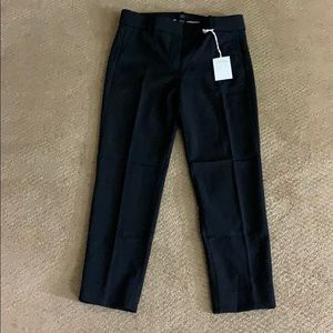 Brand new J Crew size 8 black ankle pants